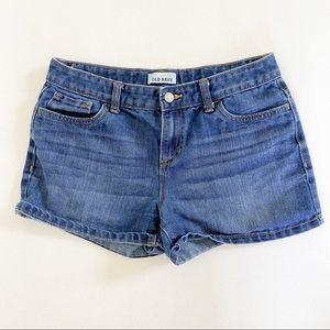 Old Navy size 16 blue shorts